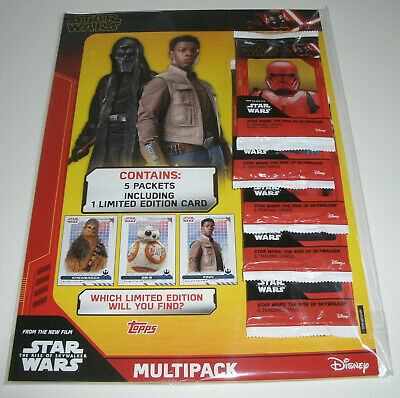 Topps Star Wars The Rise of Skywalker - Multipack inkl. 1 x Limited Edition
