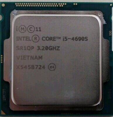 i5-4690S 4th Gen 3.2 GHz 6MB cache Processor TESTED WORKING SR1QP Haswell 1 of 2