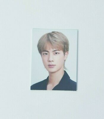 K-POP BTS JIN Official New 2020 SEASON'S GREETINGS Limited ID Photo