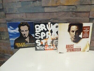 Bruce Springsteen 3 X  Cd  (Magic. Wrecking Ball, Working On A Dream)