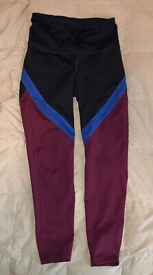 Old Navy Active Go Dry Leggings Size SMALL Womens Full Length Small EUC