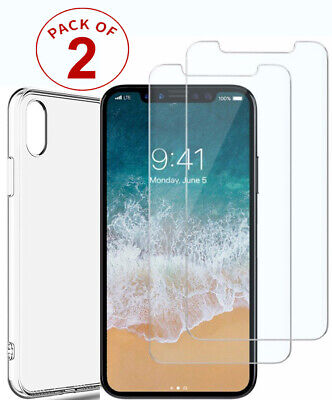Tempered Glass Screen Protector For iPhone X XS Max XR XS & iPhone 11, 11 Pro