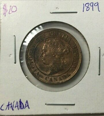 1899 Canada One Cent Coin