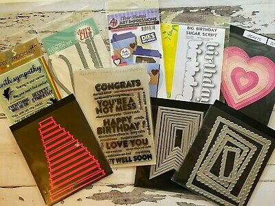 Stamps and Dies New and Gently Used You Choose Paper Smooches Gina K