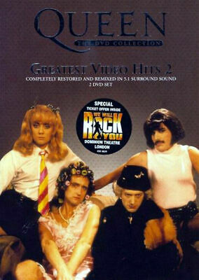 Queen Greatest Video Hits 2 Dvd 2003 Two Disc Set