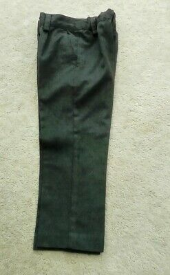MARKS & SPENCER boys school trouser age 4 years grey  - bought Sept ,GC