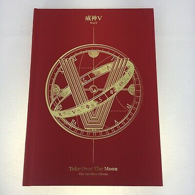 WayV The 2nd Mini Album Take Over The Moon CD Package[NO Photocard] Label V