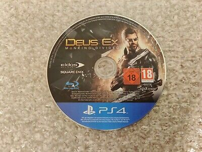 Deus Ex: Mankind Divided (PS4) *Disc Only*