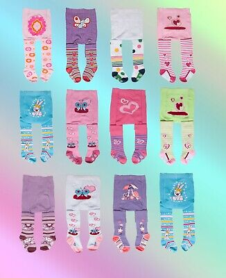 Baby Girl Tights-Toddler Girls Knitted Cotton Socks