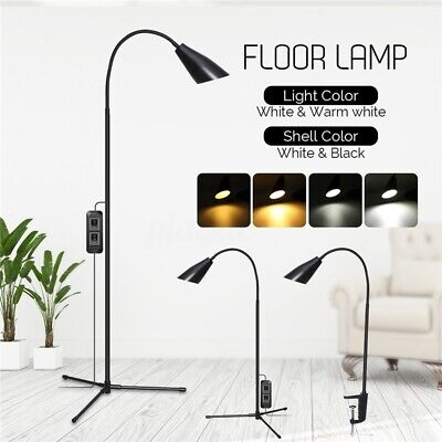 Adjustable Modern LED Floor Lamp Standing Reading Home Dimmable Desk Table