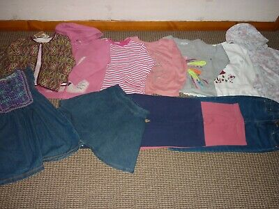 Bundle Girls Clothes age 4-5yrs Hoodie Jeans Skirt Dress Tops Leggings Next MORE