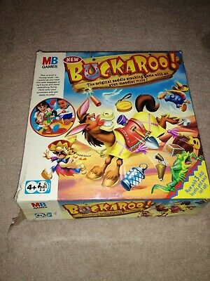 Buckaroo Board Game by MB Games Age 4 Plus