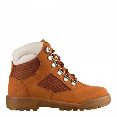 TIMBERLAND 6 INCH Little Kids (PS) Field Boots Burgundy