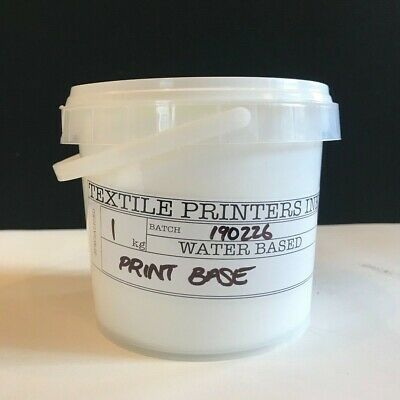 Publisher Textiles Printers Ink Screen Printing CLEAR PRINT PASTE 1L, 4L