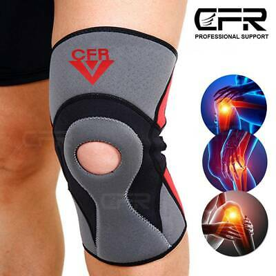 Knee Sleeve Compression Brace Support Meniscus Sport Joint Pain Arthritis Relief