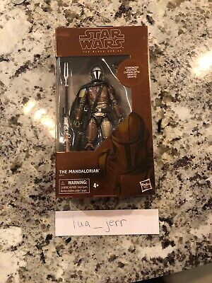 Star Wars THE MANDALORIAN Black Series - Carbonized Graphite Target Exclusive