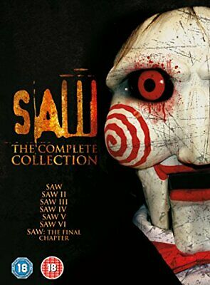 Saw 1-7: The Complete Collection  [DVD] [2016] - DVD  COVG The Cheap Fast Free