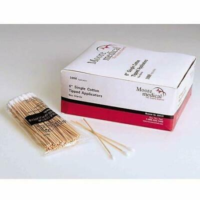 """Moore Medical Cotton Tipped Applicators 3"""" Non-Sterile - Box Of 1000"""