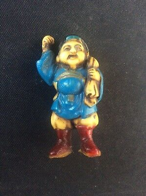 Vintage Chinese Figure circa 1940s Early Plastic 45mm tall