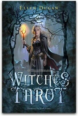 """Witches Tarot"" By Ellen Dugan (Tarot Cards)"