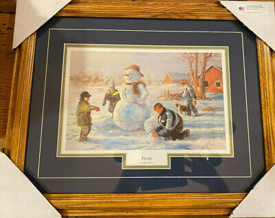 "Mary Pettis /""Winter Reflections/"" Horse Farm Children Print  31/"" x 15.5/"""