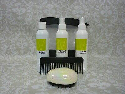 HAIRWARE WIGCARE KIT.(Shampoo, Conditioning mist, Holding Spray Brush and Comb).
