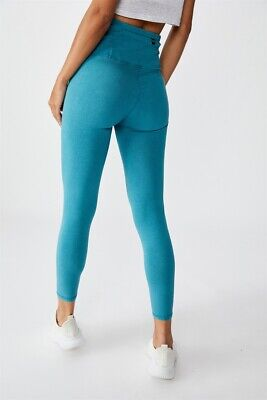 Cotton On Body Womens Washed Back 7/8 Tight  In  Green