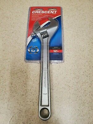 Crescent  Adjustable   Metric and SAE  Adjustable Wrench  1 pk