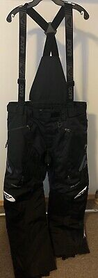 NEW Mens FXR Mission Lite Pants Black.  Large