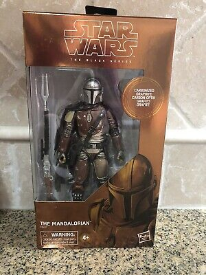"Star Wars Black Series The Mandalorian 6"" Target  Exclusive Carbonized Graphite"