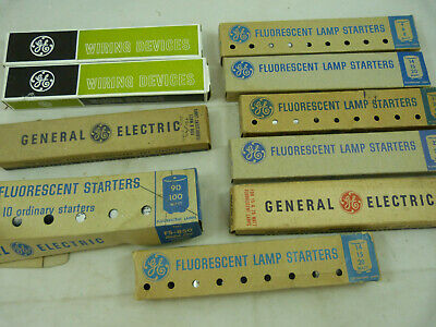 Vintage General Electric GE Wiring Devices FS-4 Standard & Fluorescent Lamps NOS