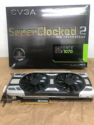 EVGA GeForce GTX 1070 SC Gaming ACX 3.0 8gb Gddr5 LED Dx12 OSD Support Pxoc