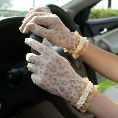 Side Lace Breathable Women Gloves Driving Gloves Short Gloves Lace Gloves
