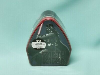 Topps Star Wars  The Rise of Skywalkers Tin Box Darth Vader inkl. Patch Karte