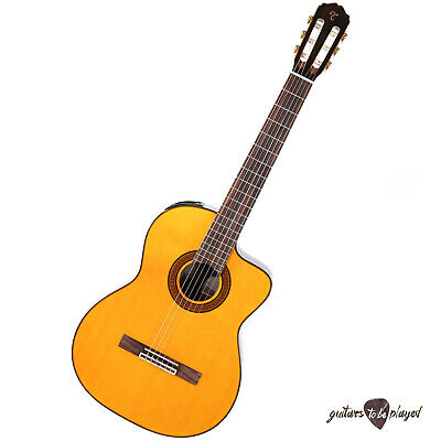 Takamine GC5CE-NAT Acoustic/Electric Cutaway Nylon String Classical Guitar