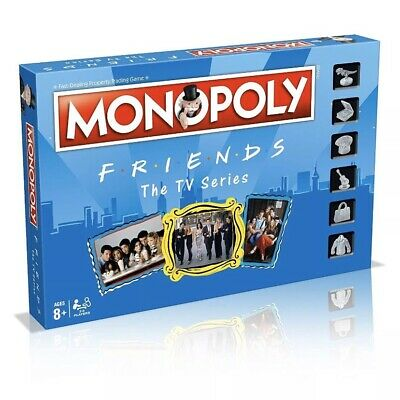 Monopoly FRIENDS The TV Series Board Game With Free Friends Top Trumps Card