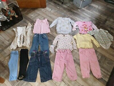 Baby Girls lovely Bundle of Winter clothes Age 12-18 Months by George, Next, TU