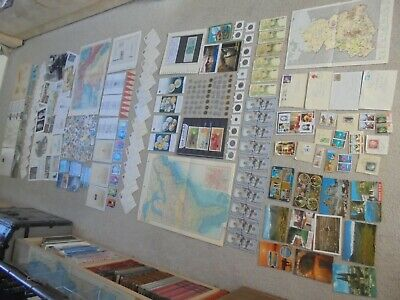 Biggest Ever! Job Lot,  Coins & Banknotes Photos, Maps, Stamps Postcards & More,