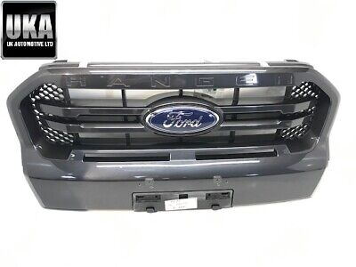 2020 Ford Ranger Wildtrak Latest Style Facelift Front Grill Grey 20