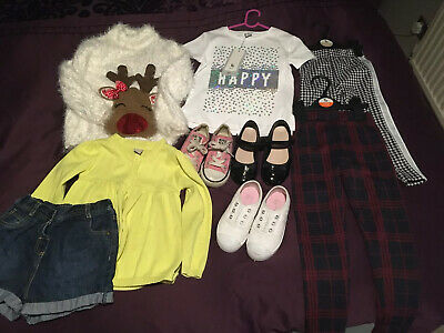 Girls Bundle Age 2-4 Years, Converse, TU, Trainers,tops,jumper,shoes