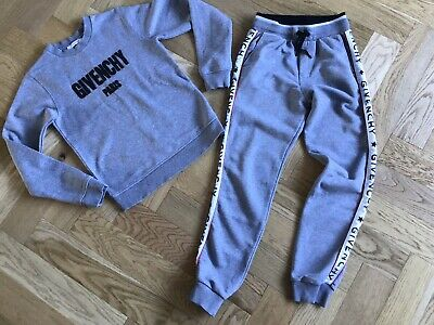 Givenchy Paris Boys - Grey Tracksuit Age 12 Years Sweater & Joggers