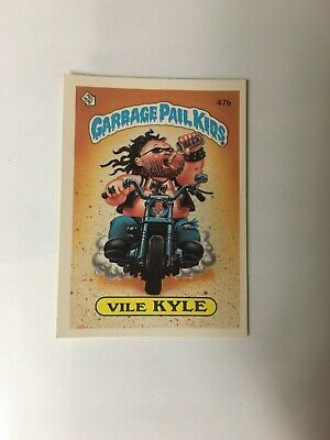 1985 Topps Garbage Pail Kids 47B Vile Kyle Series 2 Excellent Condition