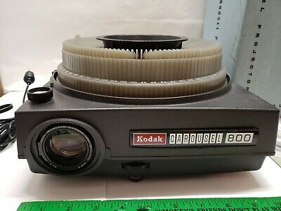 Free Shipping Vintage Kodak Carousel 600 Projector Instruction Manual