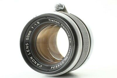 [Excellent] Canon 50mm f/1.8 Leica Screw Mount L39 MF Prime Lens From Japan
