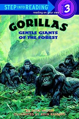 Gorillas: Gentle Giants of the Forest (Step into R... by Milton, Joyce Paperback