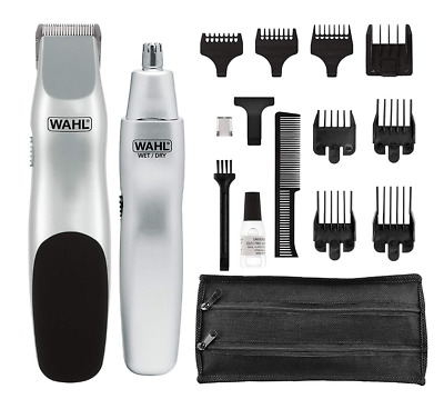 Original New Wahl 5622 Grooms   Beard Mustache Nose Hair Trimmer Free Shipping