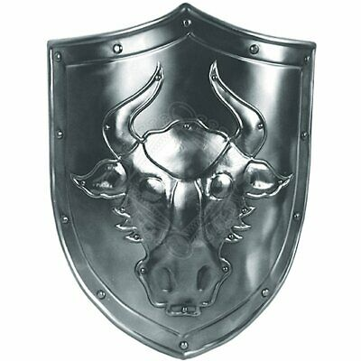 Medieval Bull Decoration Shield with coat of arms Warrior Knight Shield