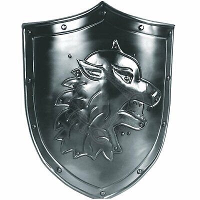 Medieval Fox Decoration Shield with coat of arms Warrior Knight Shield
