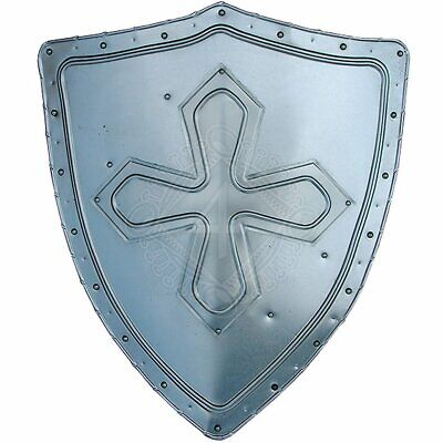 Medieval Templer Decoration Shield with coat of arms Warrior Knight Shield