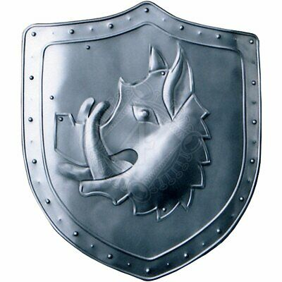 Medieval Pig Decoration Shield with coat of arms Warrior Knight Shield II